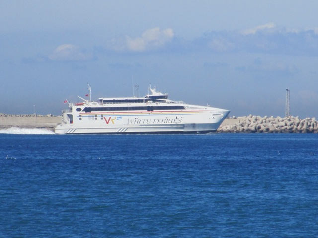 Ferry from Tangier to Spain