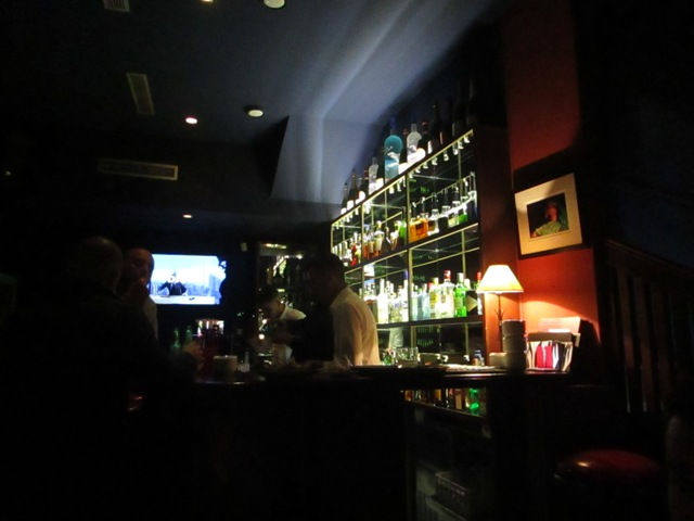 Bar at El Morocco Club Restaurant