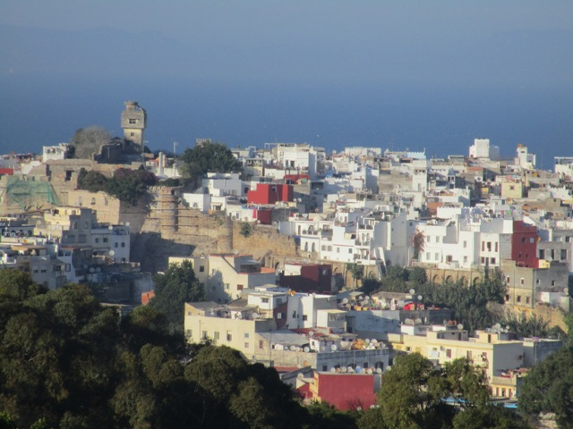 View of Tangier from my window