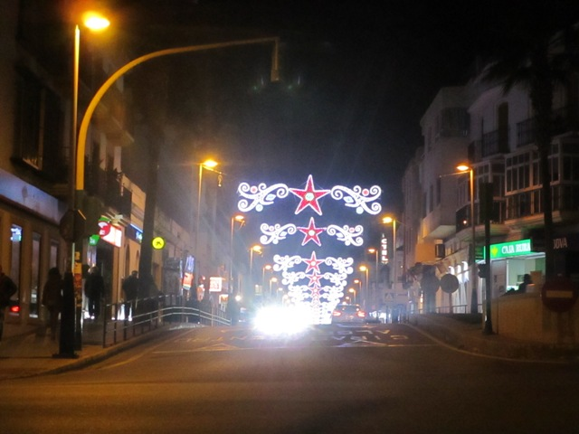 Holiday streets