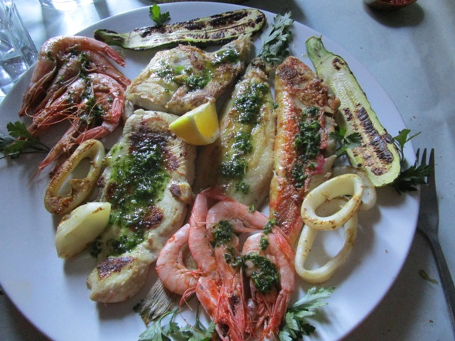 Grilled Fish-Rif Kebdani